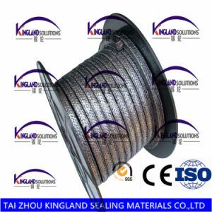 (KLP223) Graphite Packing Reinforced with Wire pictures & photos