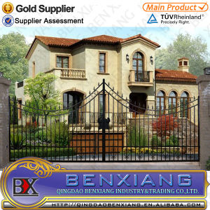 with High Quality Wrought Iron Gate pictures & photos