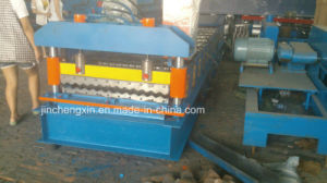 Corrugated Corrugation Water Wave Color Coated Tilr Roll Forming Machine pictures & photos