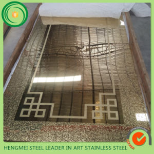 SGS 304 Stainless Steel Sheet Elevator Cabin Decor From Hermessteel pictures & photos