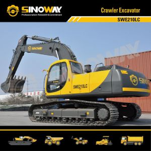 Sinoway Crawler Excavator (SWE210LC) pictures & photos