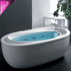 Hot Sale Freestanding Massage with Seat Bathtubs (SR5D034) pictures & photos