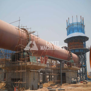 Robust Working Kaolin Rotary Kiln with ISO 9001