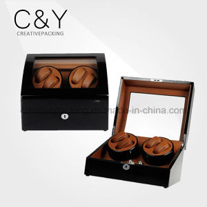 Piano Finish Inexpensive Wooden Watch Winder for Swiss pictures & photos