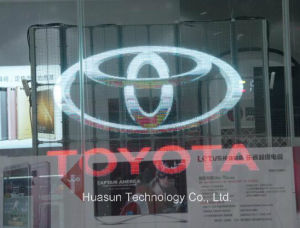 High Brightness Transparent LED Display for Advertising pictures & photos