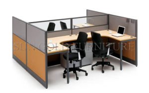 Modern Office Partition with Steel Foot (SZ-WS030) pictures & photos