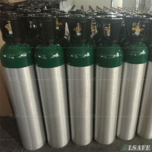 Ambulance Fitted 10L Aluminum Oxygen Gas Cylinder pictures & photos