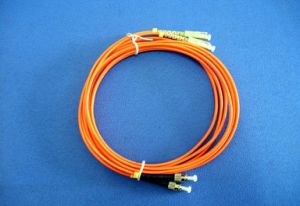 Indoor Fiber Optic Optical Cable Patch Cord LC-LC pictures & photos