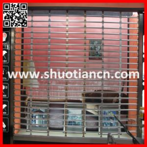 Aluminum Grill Roll up Door, Rolling Grill Shutter Door (ST-003) pictures & photos