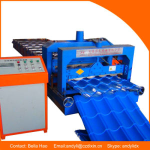 Hydraulic Glazed Tile Roll Forming Construction Machine pictures & photos