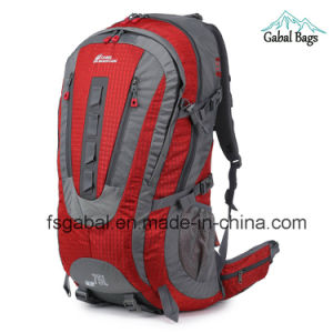 High Performance Hiking Mochila Pack Traveling Climbing Bag Backpack pictures & photos