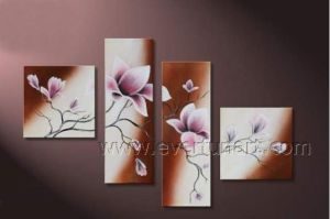 Home Decor Canvas Art Flower Painting (FL4-118) pictures & photos