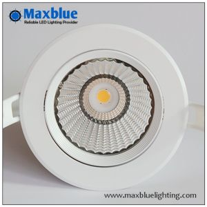 6W 9W Modern Recessed Ceiling COB Dimmable LED Down Light pictures & photos
