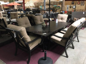 Outdoor Furniture for Garden and Patio Aluminum Dining Set pictures & photos
