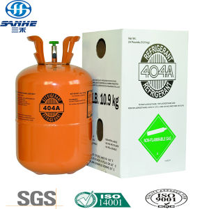 High Quality Refillable Cylinder Taped Gas R404A pictures & photos