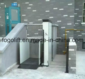 Outdoor Wheelchair Lift Price/Elevator Lift pictures & photos
