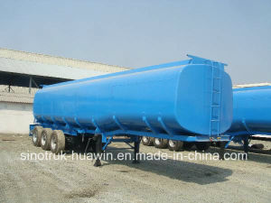 Sinotruk 3-Axle Semi Trailer Fuel Tanker pictures & photos