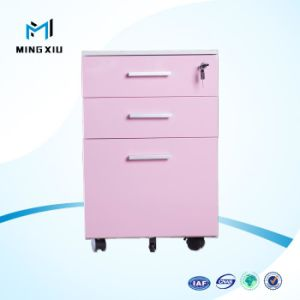 Luoyang Office Furniture Manufactures Hosptial Used Steel Pedestal Steel Mobile Cabinet for Filing Storage pictures & photos
