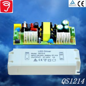 30-45W No Flicker External Full Voltage LED Power Supply with Ce TUV pictures & photos