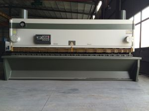 QC11k-20/3200 Hydraulic Guillotine Shearing Machine
