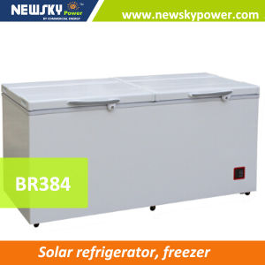 Electricity Save Easy Use Very Clean Solar Powered Fridge Freezer pictures & photos