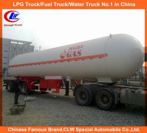 Heavy Duty Asme Standard Tri-Axle LPG Transport Tanker Truck Trailer pictures & photos