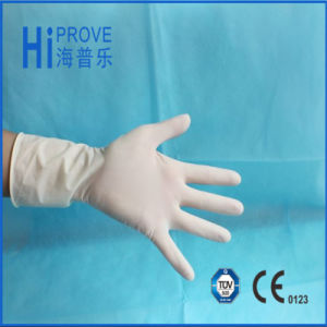 High Quality CE/ISO Approved Disposable Sterilized Latex Surgical Gloves pictures & photos