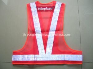 Safety Vest with EL Reflective Tape
