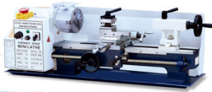 Variable Speed of Micro Lathe with Spindle Speed Display (Bench Lathe Cj0618A) pictures & photos