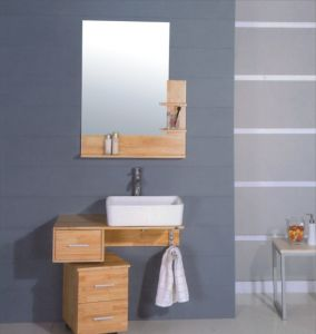 80cm MDF Bathroom Cabinet Furniture (B-231) pictures & photos