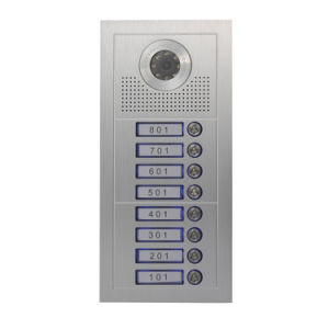 Video Door Phone for 8 Apartments pictures & photos