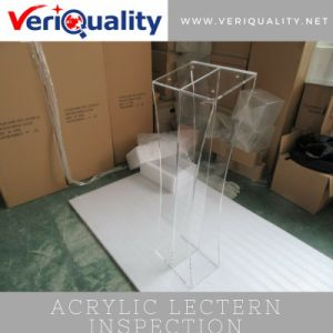 Acrylic Lectern Quality Control and Inspection Service in Shenzhen pictures & photos