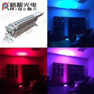 Waterproof IP65 9LEDs 3W RGB or RGB 3in1 Outdoor LED Spot Light and LED Wall Washer pictures & photos