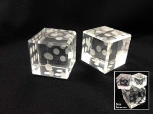 Crystal Deocration Gifts of Dice pictures & photos