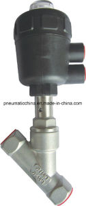 Welded Joint Type of Angle Seat Valves From China Pneumission pictures & photos