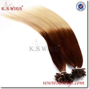 Tip Hair Keratin Human Hair Extension pictures & photos