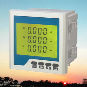 Triphase Intellegent Current Meter with LCD Display Ammeter pictures & photos