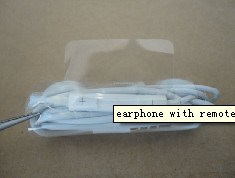Earphone with Remote and Mic for iPhone