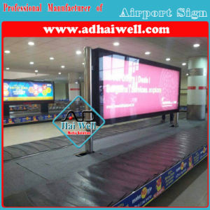 Airport Advertising Signage Scrolling LED Light Box pictures & photos