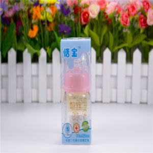 60ml Standard Mouth Crystal Diamond Baby Glass Bottles pictures & photos