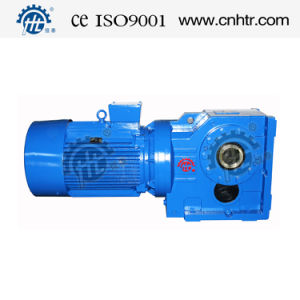 HK Series Helical Gear Bevel Gear Speed Reducers pictures & photos