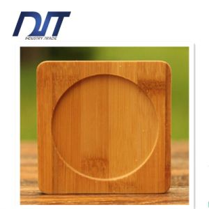 Custome Design Wholesale Natural Bamboo Table Heating Cup Coaster