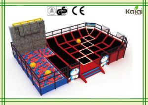 Kaiqi Trampoline for Physical Fitness and Children Amsuement in Shopping Mall, Indoor Playground, Theme Parks pictures & photos