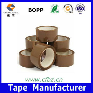 Long-Term Sticky Buff Packing Tape