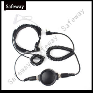 Fbi Military Tactical Throat Microphone Headset for Walkie Talkie pictures & photos