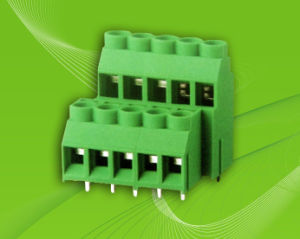 PCB Terminal Block with Dual Row Pin Header for Wire to Board Connection pictures & photos