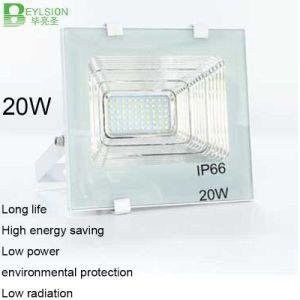 20W AC85V-265V Cornucopia White Color LED Floodlight pictures & photos