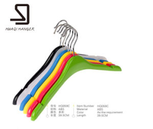 Cheap Luxury Clothes Wholesale Plastic ABS Hanger. pictures & photos