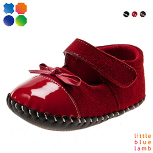 2013 New Girls′ Lovely Ballet Baby Shoes Bb-A3104-Rd