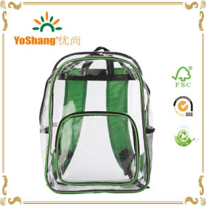 China Wholesale Clear PVC Waterproof Backpack pictures & photos